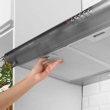 Depurador-de-ar-Electrolux-80cm-DE80X-ideal-para-cooktops-e-fogoes-ate-6-Bocas-Inox