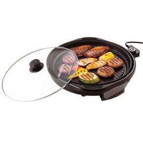 Grill-Mondial-Cook---Grill-Premium-G-03---Com-Tampa-de-Vidro-2-em-1-1270W-110v