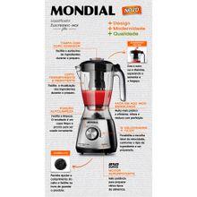 Liquidificador-Mondial-Eletronic-Filter-Premium-Inox-L-66-10-Velocidades-850W