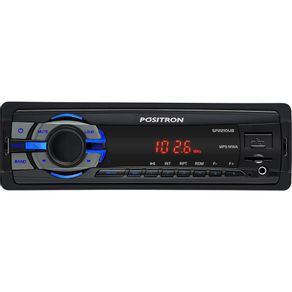 Som-Automotivo-Positron-SP2210UB---MP3-USB-Radio-Leitor-de-Cartao-SD-e-Entrada-Auxiliar