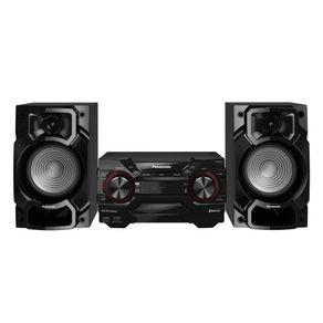 Mini-System-Panasonic-450W-RMS---Bluetooth-Dual-USB