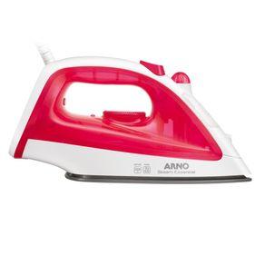 Ferro-de-passar-roupas-a-vapor-Arno-Steam-Essential-FE10-1200w-127V-Branco-com-Rosa