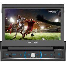 DVD-Player-7--Automotivo-Positron-SP-6720DTV-Conexao-USB-Bluetooth-Leitor-de-Cartao-SD-e-Entrada-para-camera-de-re