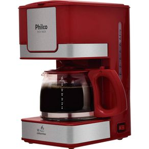 Cafeteira-Eletrica-Philco-PH31-INOX-Jarra-com-capacidade-de-1200ml-sistema-corta-pingo-800W-Capacidade-de-30-Cafezinhos