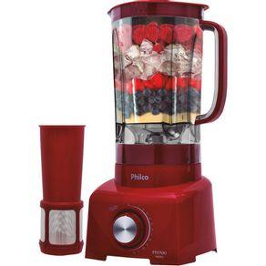Liquidificador-Philco-PH900-12-Velocidades-900W-127V---Vermelho