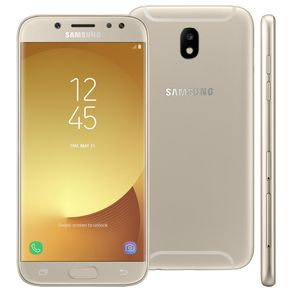 Smartphone-Samsung-Galaxy-J5-Pro-Tela-52---Octa-Core-32GB-Android-7-Nougat-Camera-13MP-e-Frontal-13MP-Dourado