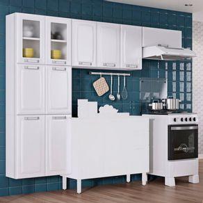 Armario-de-cozinha-3-pecas-Itatiaia-Luce-2-armarios-aereos-e-1-paneleiro