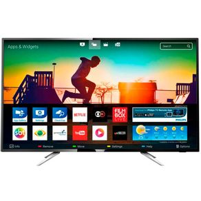Smart-TV-LED-Ultra-Fina--43--Ultra-HD-4k-Philips-43PUG6102-4-HDMI-2-USB