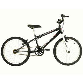 Bicicleta-Track---Bikes-Passeio-Aro-20-Quadro-em-Aco-Fixa-Preto-Branco