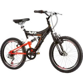 Bicicleta-Track---Bikes-Passeio-Aro-20-Quadro-em-Aco-6-Velocidades-Preto-Laranja