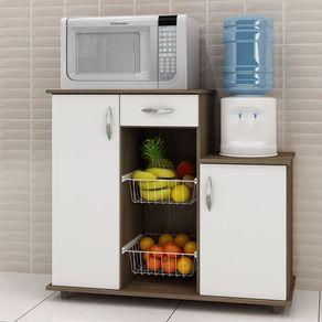 Fruteira-Notavel-Diva-New-1-gaveta-2-portas-2-cestos--Chocolate-Branco