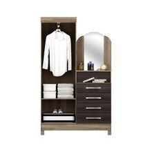 Comoda-Multiuso-Notavel-Pratico-New-2-portas-4-gavetas-com-espelho