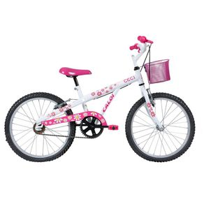 Bicicleta-Caloi-Passeio-Aro-20-Quadro-em-Aco-Fixa-Branca