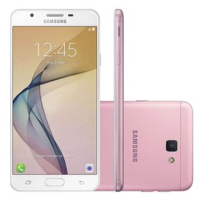 Smartphone-Samsung-Galaxy-J7-Prime-Tela-55---Octa-core-32GB-Android-6-Camera-13MP-e-Frontal-8MP-Rosa