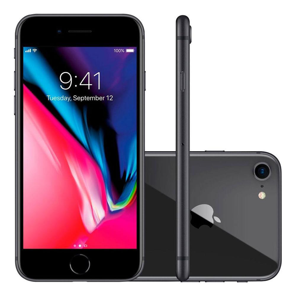 iphone 8 apple com 64gb tela retina hd de 4 7 4g nfc. Black Bedroom Furniture Sets. Home Design Ideas