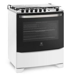 Fogao-Electrolux-5-Bocas-76SQB-com-porta-Full-Glass-e-acendimento-automatico-Branco