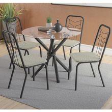 Conjunto-de-Mesa-com-4-cadeiras-Talin-Kappesberg-com-tampo-em-vidro