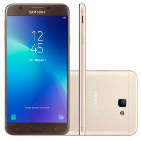 Smartphone-Samsung-J7-Prime-2-TV-Tela-55--Octa-Core-32GB-Android-7-Camera-13MP-e-Frontal-13MP-Dourado
