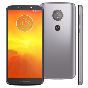 Smartphone-Motorola-Moto-E5-Tela-5.7--Quad-Core-16GB-Android-8-Camera-13MP-e-Frontal-5MP-Platinum
