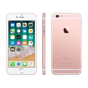 "Iphone-6s-Apple-Tela-4.7""-32GB-iOS-11-Cam.-12MP-Selfie-5MP-Ouro-rose"