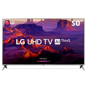 Smart-tv-LED-lg-50-4k-ultrahd-AI-THINQ-INTELIGENCIA-ARTIFICIAL