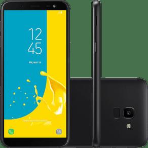 Smartphone-samsung-galaxy-j6-64gb-preto