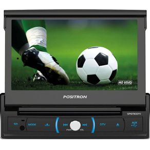 DVD-automotivo-Retratil-Positron-SP6730-TV-Tela-7-Bluetooth-entradas-USB-e-Auxiliar