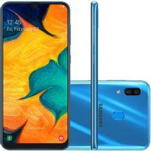 Smartphone-Samsung-Galaxy-A30-64GB-Tela-6-4-Processador-Octa-Core-Android-9-0-Camera-traseira-Dupla-Azul-1