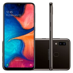 Smartphone-Samsung-Galaxy-A20-Tela-infinita-6-4-32GB-Camera-Dupla-13MP