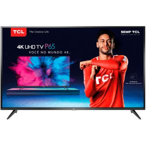Smart-TV-LED-65-TCL-P65US-4K-UltraHD-HDR-Wi-Fi-3-HDMI-2-USB