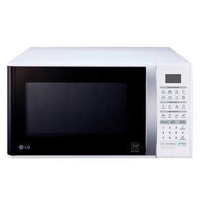 Forno-de-Micro-ondas-LG-MS3052R-Solo-30-Litros-com-revestimento-EasyClean™-tecnologia-I-Wave-e-acabamento-em-branco