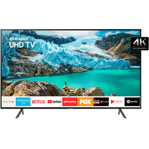 Smart-TV-LED-Samsung-UltraHD-4K-RU7100-HDR-Premium-Bluetooth-Controle-Unico
