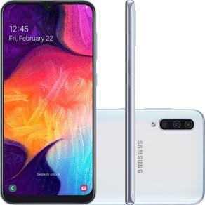 Smartphone-Samsung-Galaxy-A50-Tela-64-Infinita-128GB-Octa-Core-4G-Camera-Tripla-bRANCO