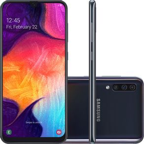 Smartphone-Samsung-Galaxy-A50-Tela-64-Infinita-128GB-Octa-Core-4G-Camera-Tripla-pRETO