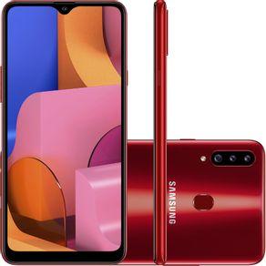 Smartphone-Samsung-A20s-Tela-6-5-32GB-Octa-Core-Camera-Tripla-vermelho