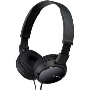 Headphone-Sony-MDR-ZX110-com-fio-Preto