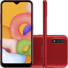 Smartphone-Samsung-Galaxy-A01-Tela-Infinita-de-5-7-32GB-Octa-core-Camera-Traseira-Dupla-vermelho