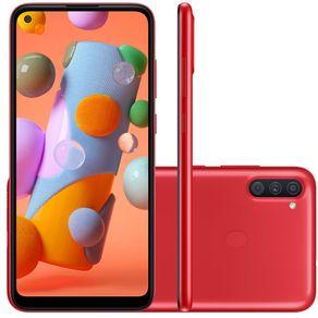 Smartphone-Samsung-Galaxy-A11-64GB-Vermelho