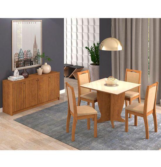 Mesa-Luana-com-4-cadeiras-Livia-amibientado-com-o-buffet-lia