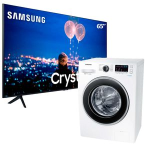 Smart-TV-65-UltraHD-Samsung-Lavadora-Samsung-11kg