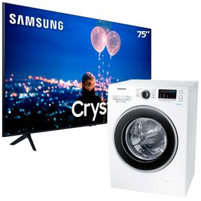 Smart-TV-75-UltraHD-Samsung-Lavadora-Samsung-11kg