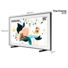 """Samsung-Smart-TV-QLED-4K-The-Frame-55""""-2020-com-Modo-Arte-Modo-Ambiente-3.0-Molduras-customizaveis-Unica-Conexao-e-Suporte-No-Gap-2"""