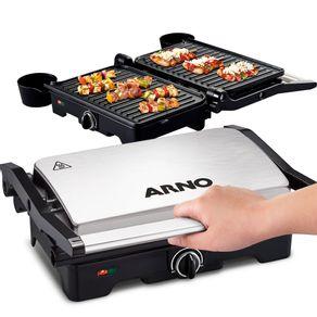 Grill-Arno-GNOX-Dual-chapa-com-abertura-de-180