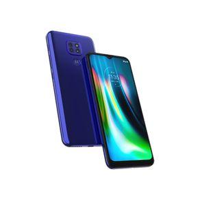 """Smartphone-Motorola-Moto-G9-Play-Tela-de-6.5""""-Android-10-e-Processador-Octa-Core-64GB-4GB-RAM-Camera-Traseira-Tripla---Azul-Safira-1"""