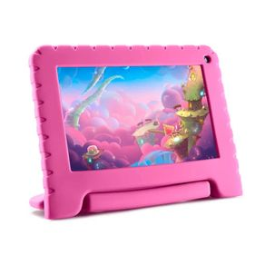 Tablet-Multilaser-NB303-Kid-Pad-Lite-Tela-7-Quad-Core-16GB-Android-8.1-Rosa