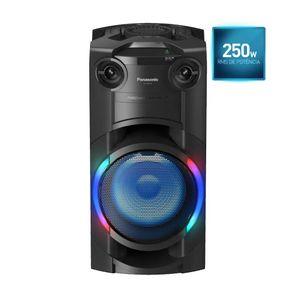 Torre-de-Som-Panasonic-TMAX20-com-LED-Multicolorido-Bluetooth-e-250W-RMS-de-Potencia-