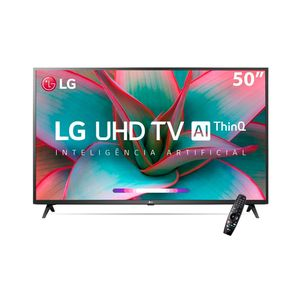 Smart-TV-LG-50---UN7310-4K-UHD-Wi-Fi-Bluetooth-HDR-Inteligencia-Artificial-ThinQ-AI-Google-Assistente-Alexa