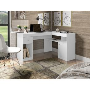 Mesa-de-Computador-Caemmun-Nilo-com-Porta-e-Gaveta-branco-fosco