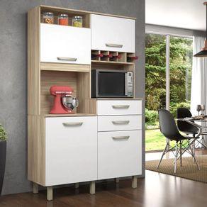 Kit-de-Cozinha-Smart-JR-Nesher-4-portas-2-gavetas