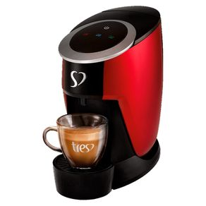 Cafeteira-Expresso-TRES-3Coracoes-Touch-Vermelha-